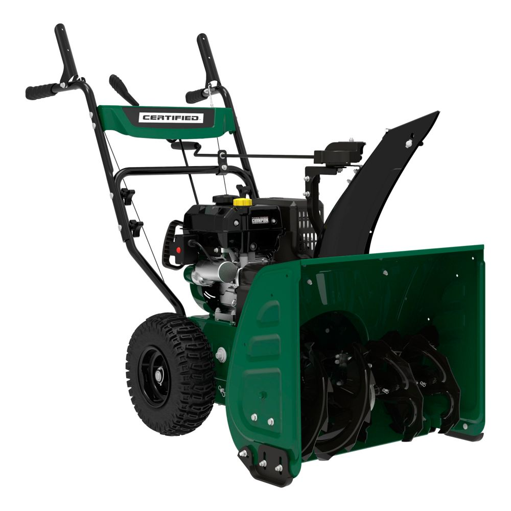 Certified 224cc 2-Stage Gas Snowblower, 24-in