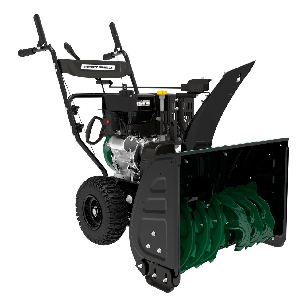 Certified 301cc 2-Stage Gas Snowblower, 27-in