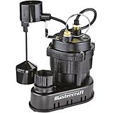 Mastercraft Maximum 1/2 HP Submersible Sump Pump