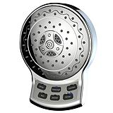 LevAqua Chrome Digital Fixed Shower Head