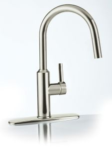 cuisinart colby nickel kitchen faucet brushed canadian tire