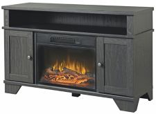 hamilton fireplace tv stand canadian tire