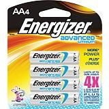 Energizer Advanced Lithium AA Batteries 4-pack