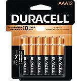 Duracell AAA-battery, 12-pack