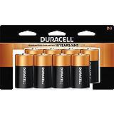 Duracell Copper Top Alkaline D Batteries, 8-pk