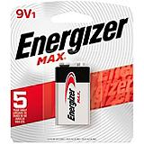 Energizer Max Alkaline 9V Batteries