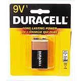 Duracell Copper Top Alkaline Batteries, 9V