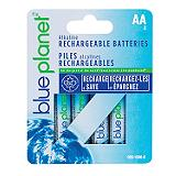 Blue Planet Rechargeable Batteries, AA4