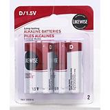 Likewise D Batteries 2 Pack