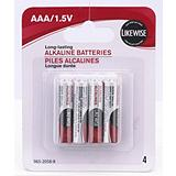 Likewise AAA Batteries 4 Pack