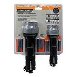 Mastercraft Rubber Flashlight, 2-pack