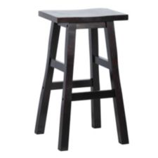 For Living Shinto Stool Dark Espresso Canadian Tire