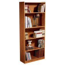 hill library bookshelf sauder heritage products