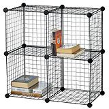 4-cube Wire Shelf