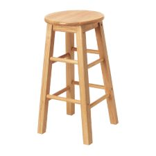 Natural wood bar stool canadian tire for Tabouret canadian tire