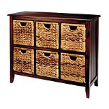 Verona Wicker Chest, 6-Drawer