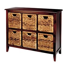 For living verona wicker chest 6 drawer canadian tire for Meuble canadian tire