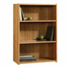 Sauder 3 Shelf Oak Bookcase