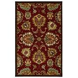 Crafton Red Area Rug