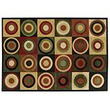 Home Collection Orbit Rug, 5x8-ft.