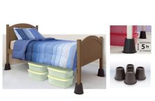 4-in Round Bed Risers, 4-pk | Canadian Tire