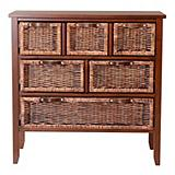 Home Collections 6-Drawer Dark Chest