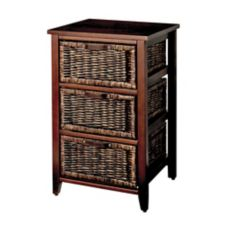 dark wicker chest 3 drawer canadian tire. Black Bedroom Furniture Sets. Home Design Ideas