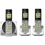 Vtech DECT 6.0 Cordless Telephone Set, 3-Handsets