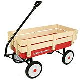 SuperCycle Kidz Wooden Rail Wagon