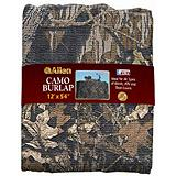 Camo Burlap for Floor