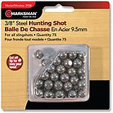 Crosman 3/8-in. Steel Slingshot Ammunition, 75 Count