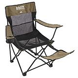 Roots Armchair With Footrest