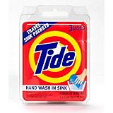 Tide Travel Sink Packets