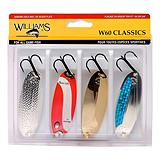 Williams W60 Wabler Lure Kit 4-Pk