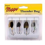 Mepps Thunder Bug Spinner Lure Kit, 4-Pk