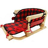 Traditional Baby Sleigh with Pad and Wear ...