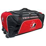 Team Canada Wheeled Hockey Bag with Cooler