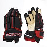 Bauer JT19 Hockey Gloves, Junior, Black