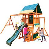 Brightside Wood Swing Set