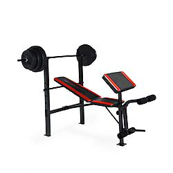 Cap Barbell Bench With 100 Lb Weight Set