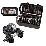 Cap Barbell Dumbbell Set, 40 lb