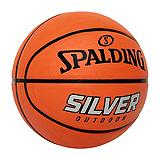 Ballon de basket-ball Spalding NBA, argent...