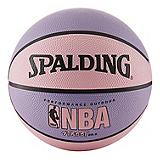 Ballon basket Spalding NBA Street, rose/vi...