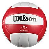 Ballon de volley-ball Wilson Bon d�part, taille r�glementaire