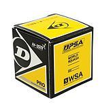 Dunlop Pro Double Yellow Dot Squash Ball