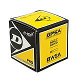 Dunlop Pro Double Yellow Dot Squash Ball