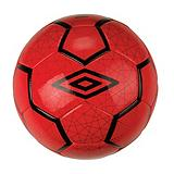 Umbro Veloce II Soccer Ball, Red/Dark Shadow/White