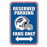 Buffalo Bills Parking Sign