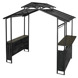 Canadian tire for living grill gazebo customer reviews for Abri mural hardtop gazebo