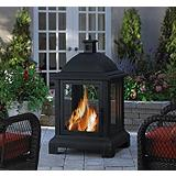 Montclaire Outdoor Fireplace